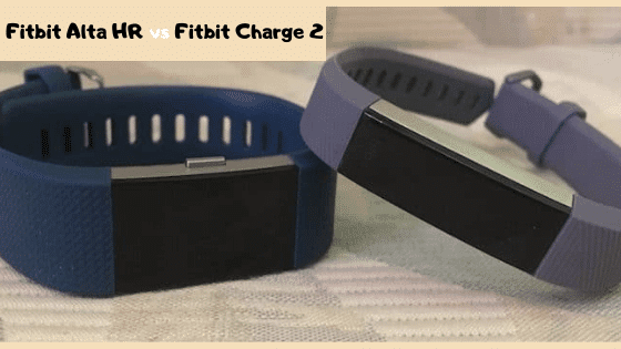 Fitbit Alta HR vs Fitbit Charge 2